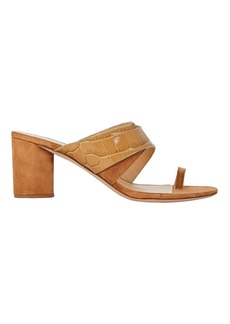 Veronica Beard Zuri Crossover Slide Sandals