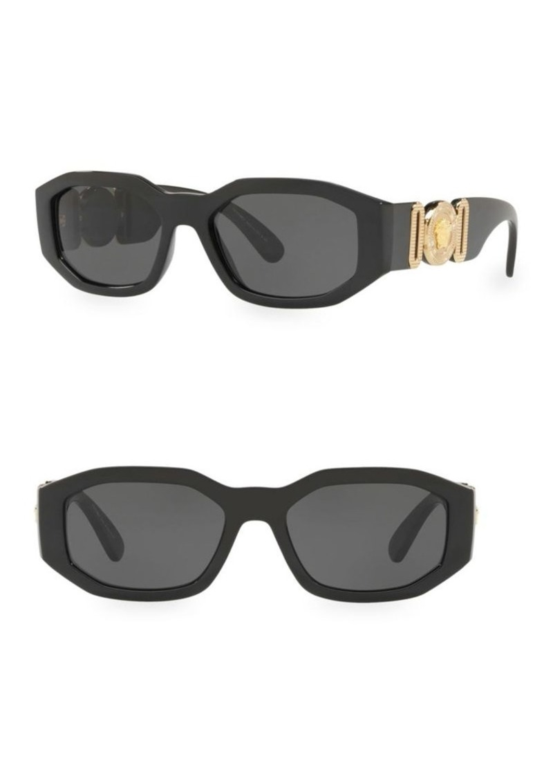 938a5b45123 Versace 0VE4361 53MM Hexagon Sunglasses
