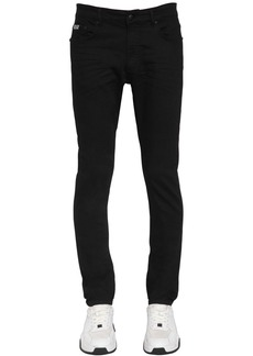 Versace 16.5cm Skinny Cotton Denim Jeans