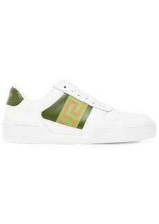 Versace 20mm Semplice Leather Sneakers