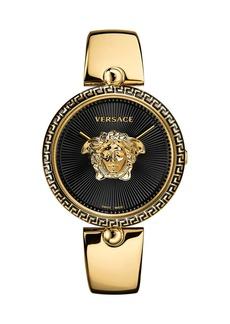 Versace 39mm Palazzo Empire Bangle Watch  Black/Gold