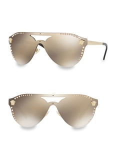 Versace 42MM 2161B Aviator Sunglasses