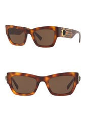 Versace 52mm Square Sunglasses