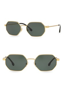 Versace 53MM Geometric Sunglasses