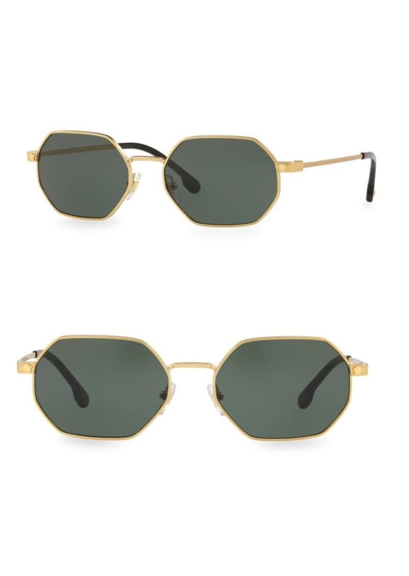 2b458e1b7425 Versace 53MM Geometric Sunglasses
