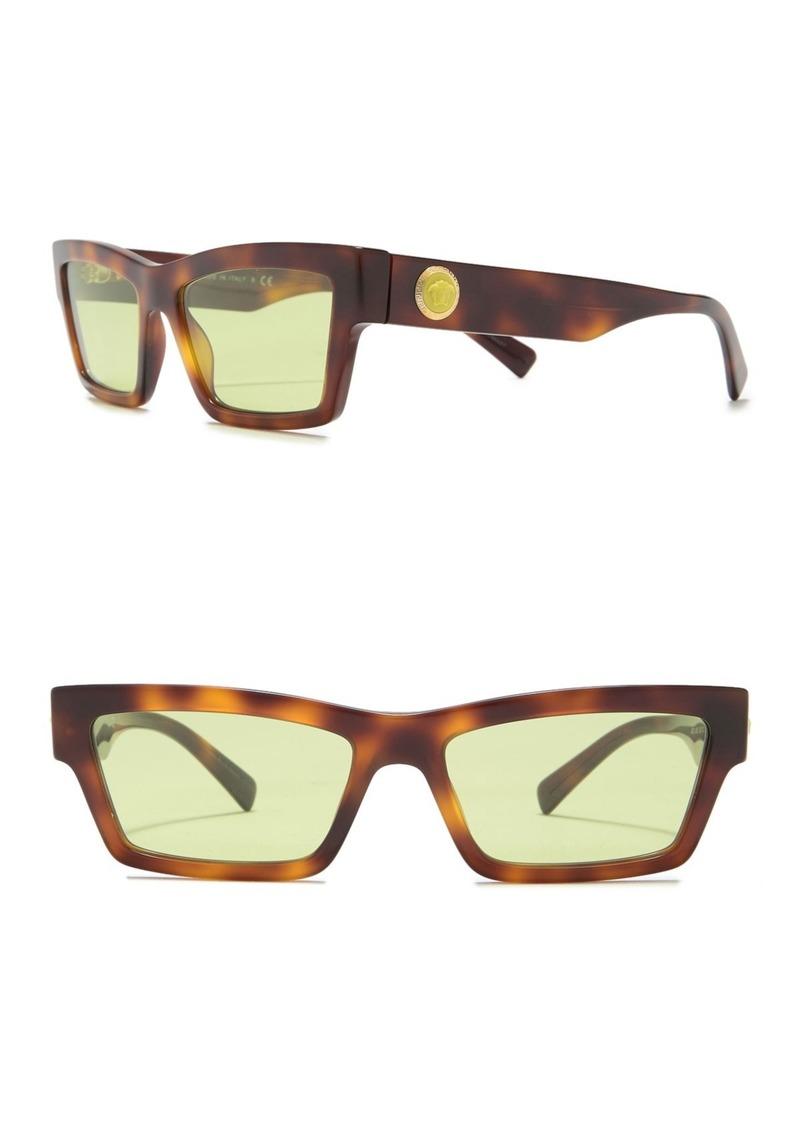 Versace 55mm Cat Eye Sunglasses