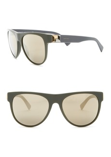 Versace 57mm Square Sunglasses