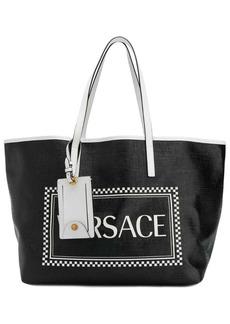 Versace 90's logo tote