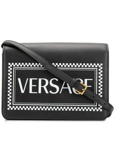 Versace 90s Vintage Logo shoulder bag
