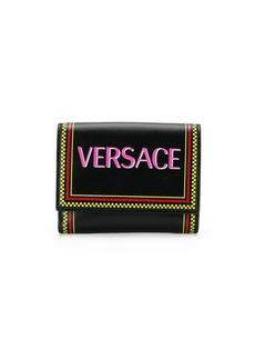 Versace 90s vintage logo wallet