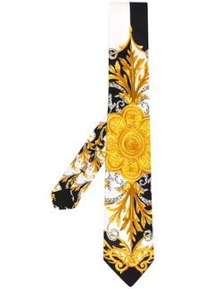 Versace Acanthus print tie