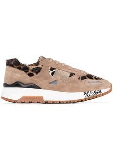 Versace Achilles leopard print sneakers