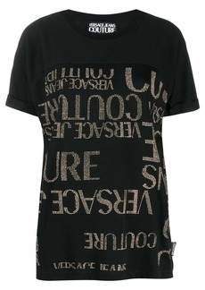 Versace all-over logo T-shirt