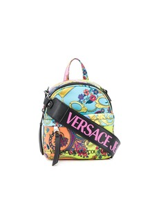 Versace all-over print backpack
