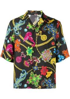 Versace all-over print shirt