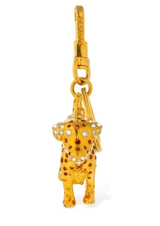 Versace Audry Charm Key Holder W/ Crystals