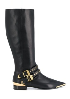 Versace Aurene knee-high boots