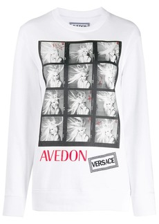 Versace Avedon photo print T-shirt