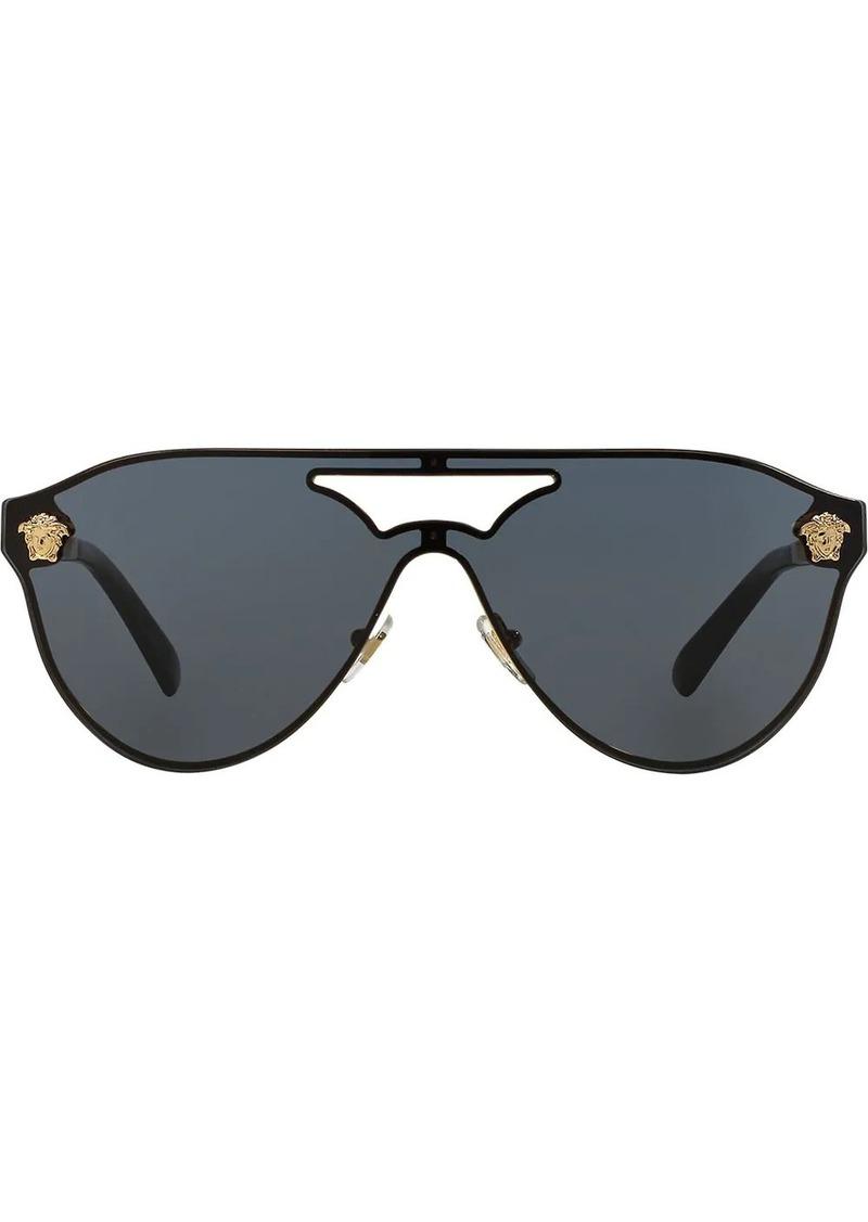 Versace aviator frame sunglasses