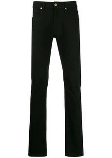 Versace bandana print slim jeans