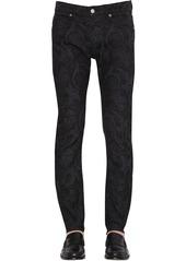 Versace Barocco Jacquard Denim Trousers
