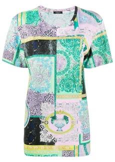 Versace Barocco Patchwork print T-shirt