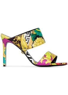 Versace Barocco print 95mm sandals