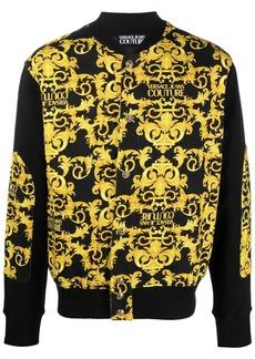 Versace Barocco-print bomber jacket