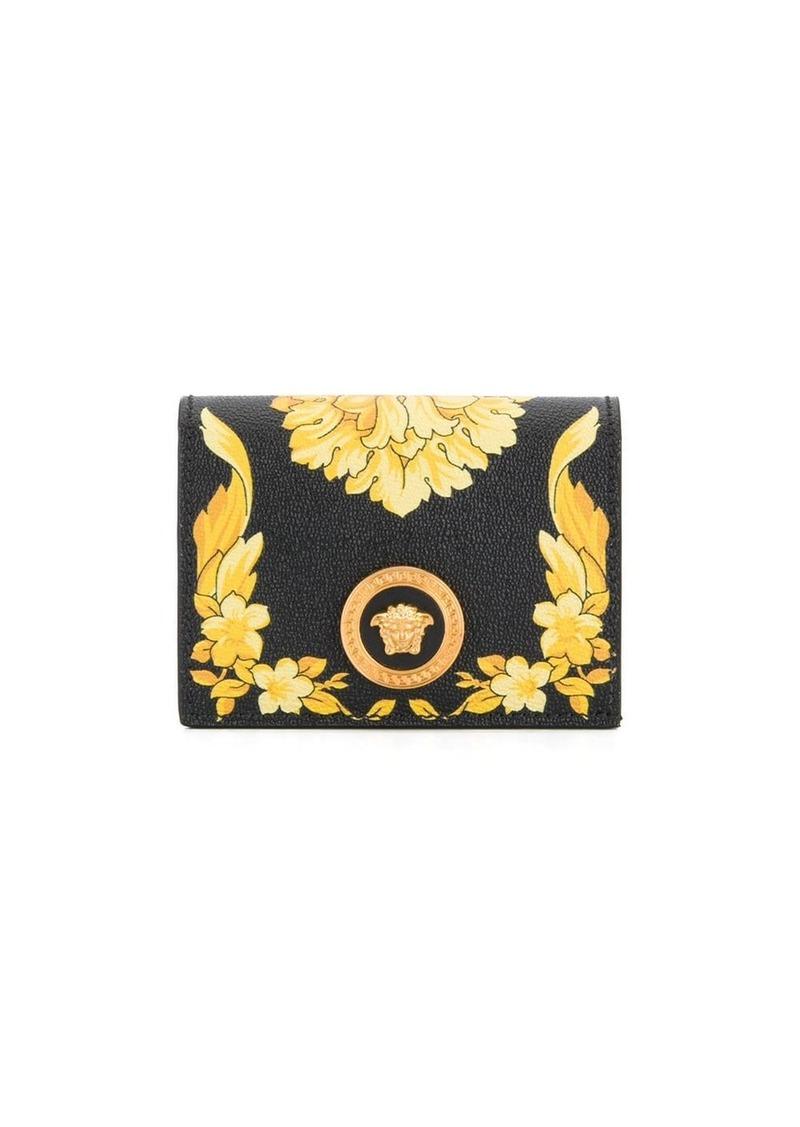 Versace Barocco print card case