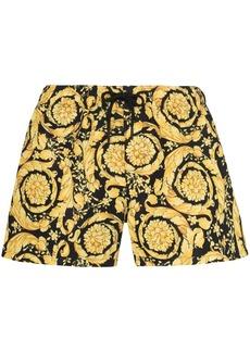 Versace Barocco print drawstring shorts