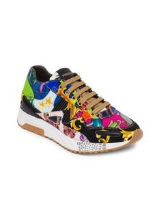 Versace Barocco Print Mix Achilles Sneakers