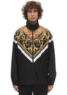 Versace Barocco Print Nylon Jacket