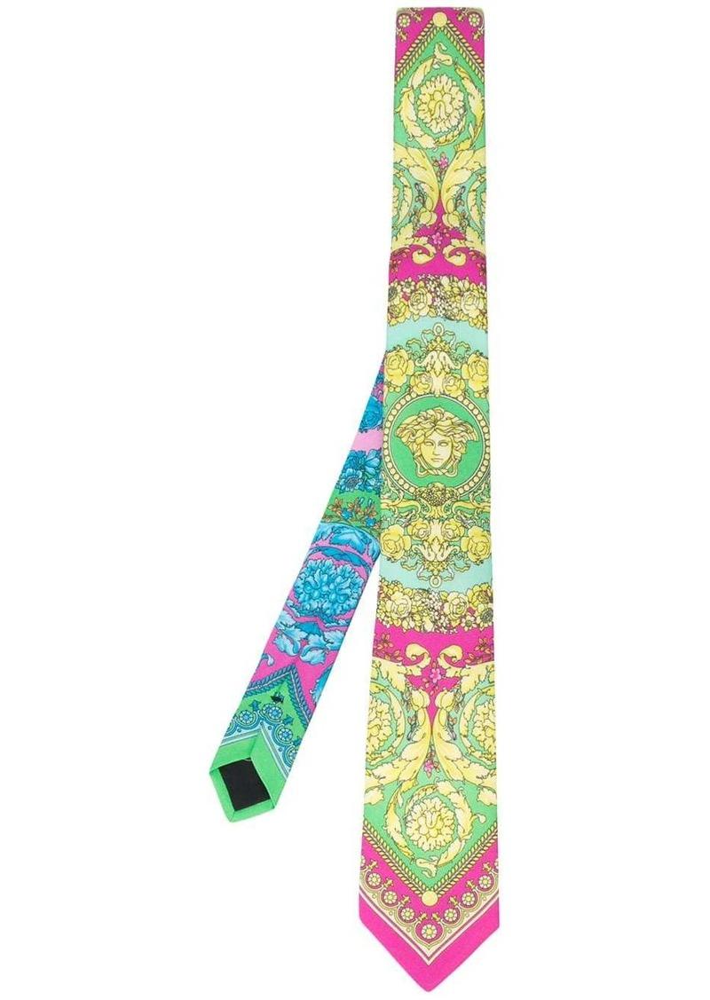 Versace Barocco print tie