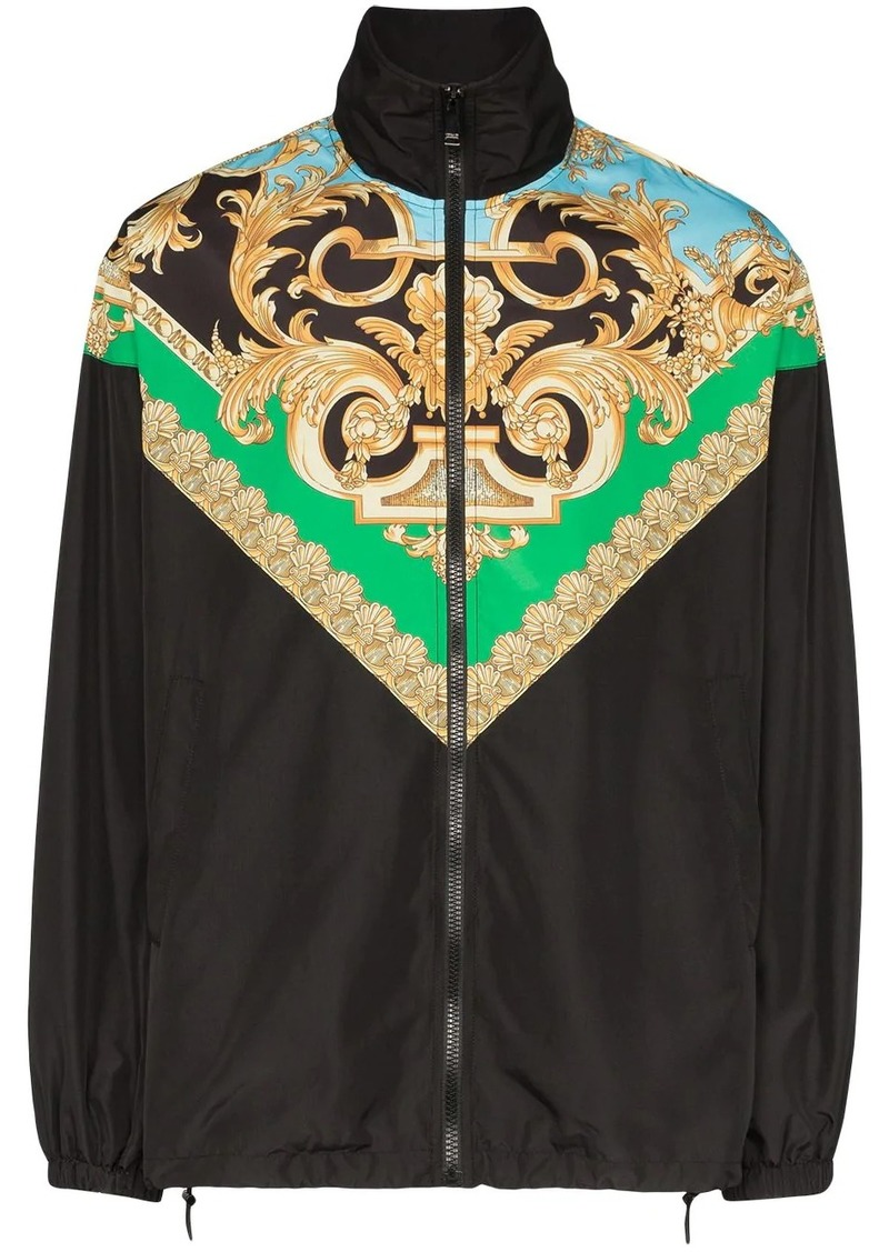 Versace Barocco print track jacket