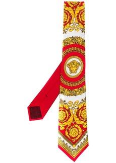 Versace barocco printed tie