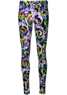 Versace Baroccoflage-print leggings