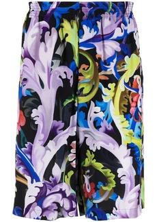 Versace Baroccoflage-print shorts