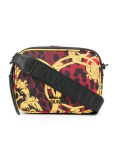 Versace baroque leopard-print crossbody bag