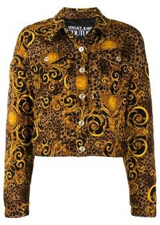 Versace Baroque leopard-print jacket