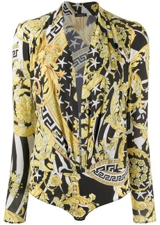 Versace baroque pattern body