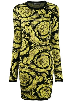 Versace Baroque pattern dress