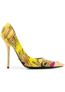 Versace Baroque pointed pumps