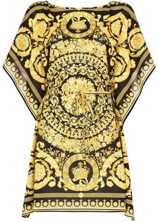 Versace baroque-print kaftan dress
