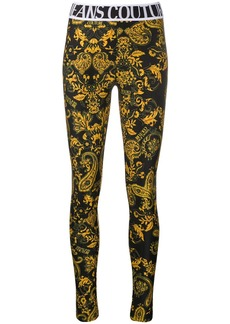 Versace baroque print leggings