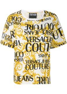 Versace baroque print logo T-shirt