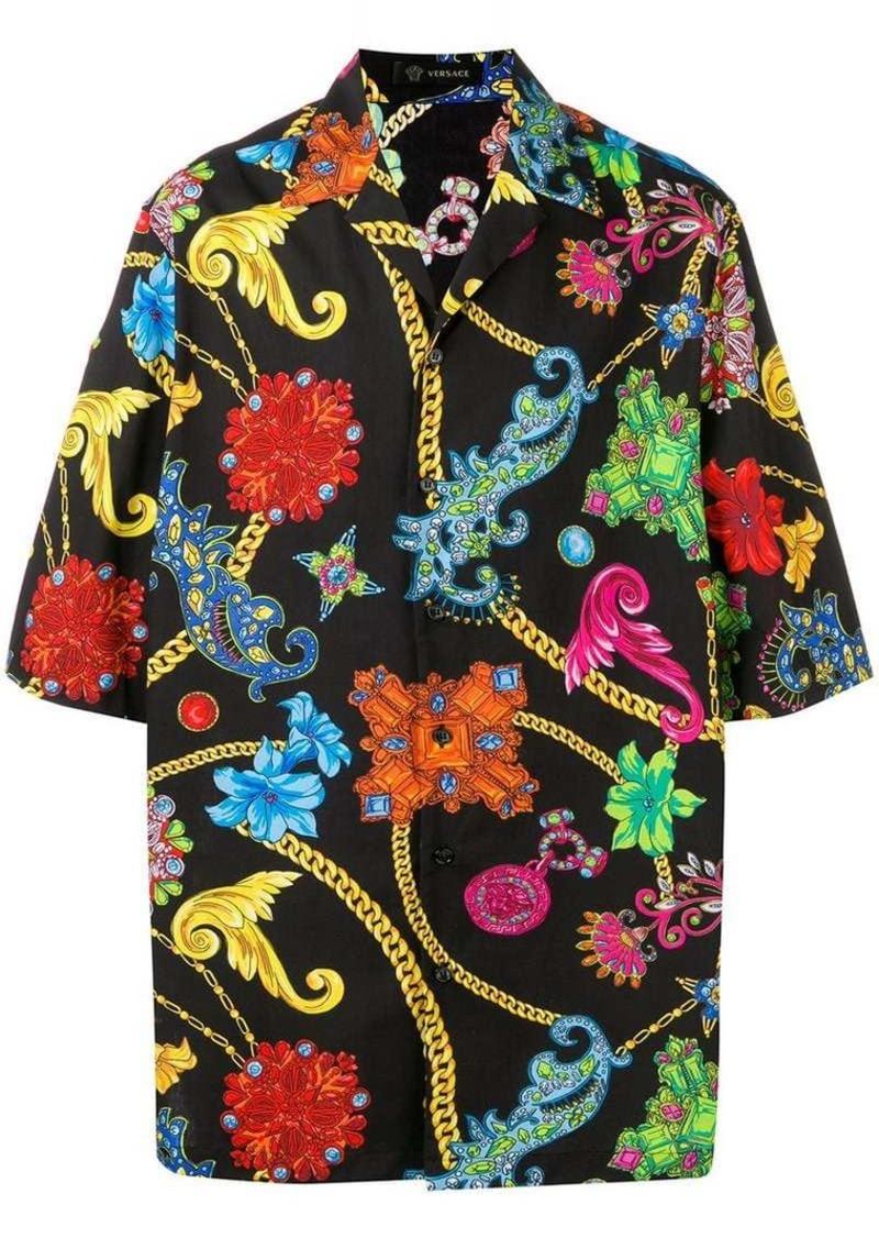 2e2cbb05 Versace baroque-print shirt | Casual Shirts