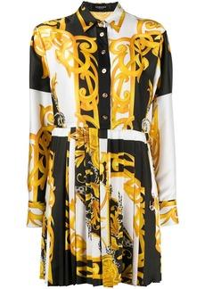 Versace Baroque-print shirt dress
