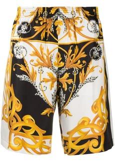 Versace Baroque print shorts