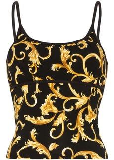 Versace Baroque print vest top