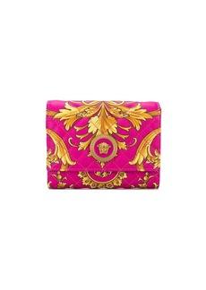 Versace baroque print wallet